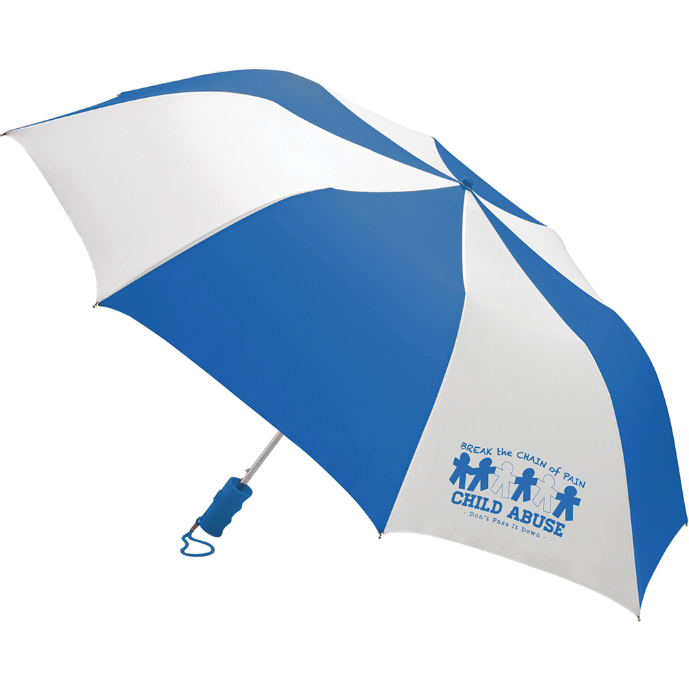 Child Abuse Barrister Auto Open Umbrella
