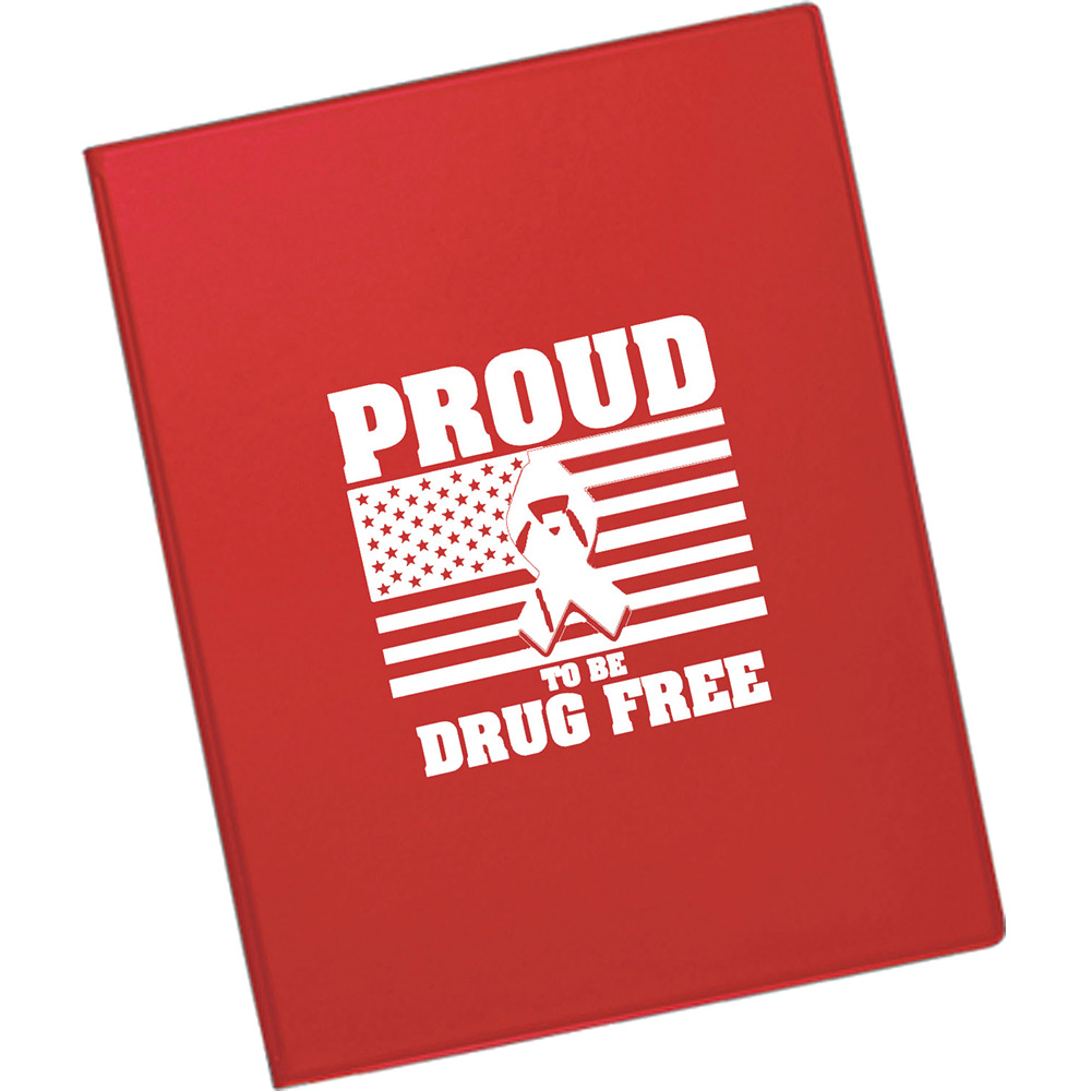 Proud To Be Drug Free Value Plus Standard Folder
