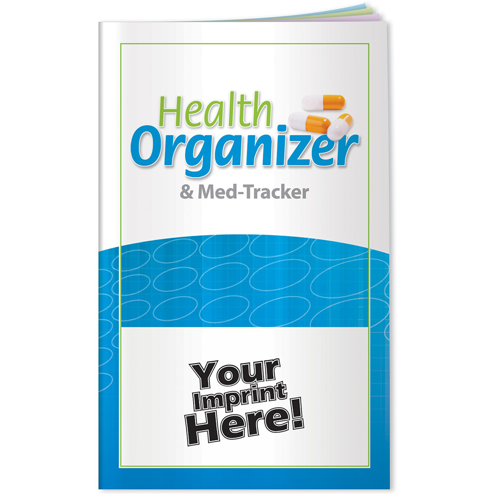 Health Organizer and Med Tracker Booklet