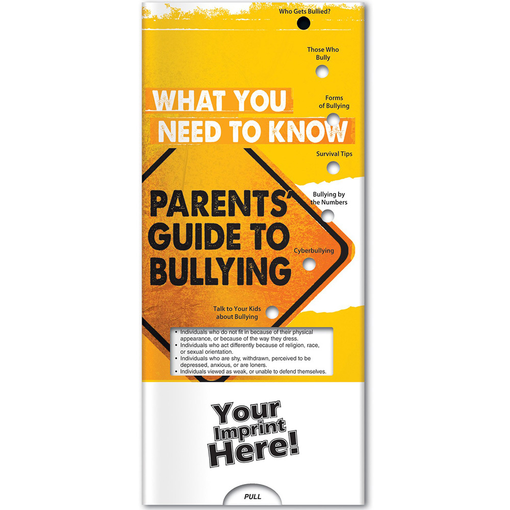 What You Need to Know: Parents Guide to Bullying Pocket Slider