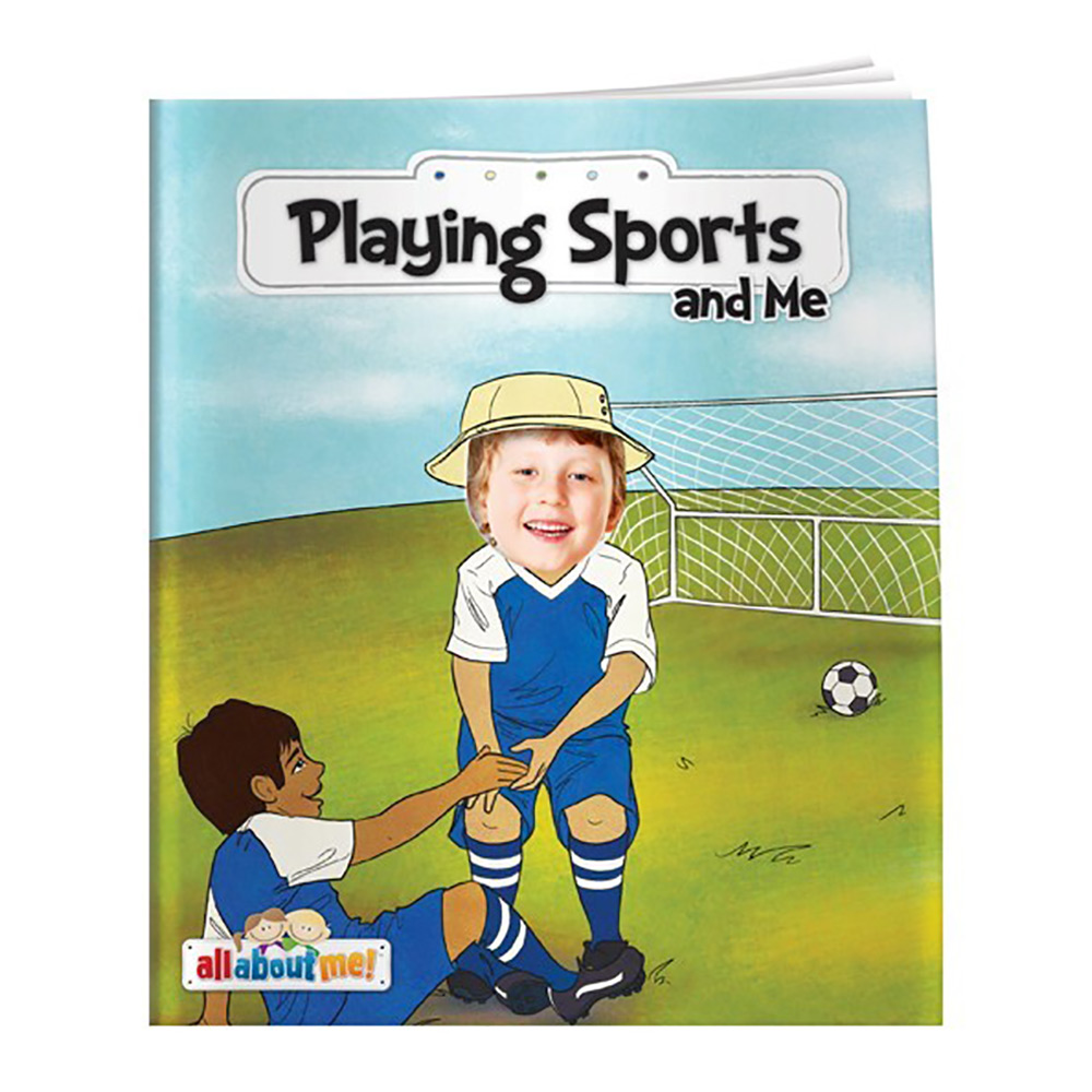 All About Me   Playing Sports and Me Storybook