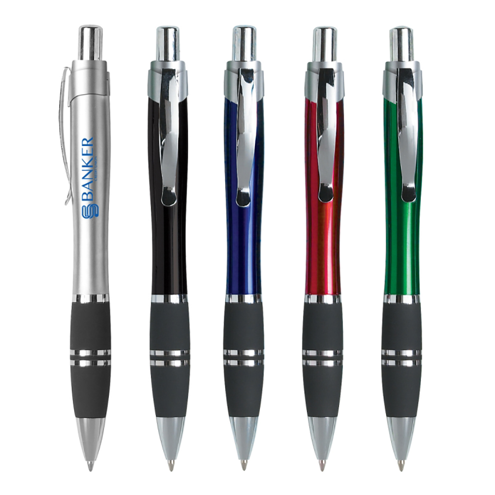 Blue or Black Ink Tri Band Pen