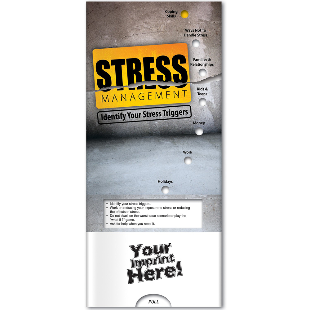 Stress Management: Identify Your Stress Triggers Pocket Slider