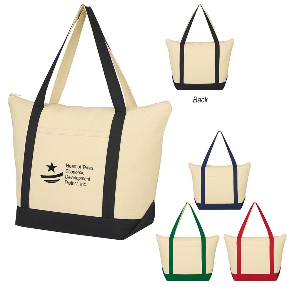 Folksy Cotton Tote Bag
