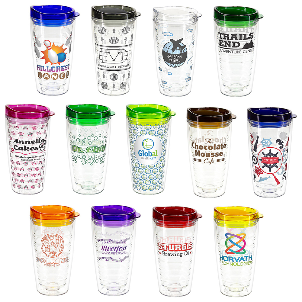 16 oz Tritan Tumbler With Translucent Lid