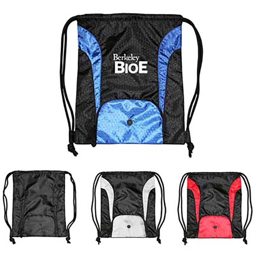 Safeguard Duro Rip Stop Nylon Drawstring Backpack