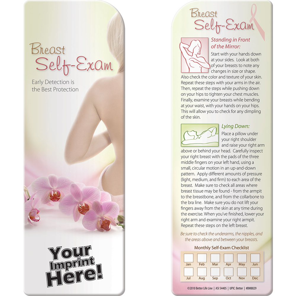Breast Self Exam: Early Detection is the Best Protection Bookmark