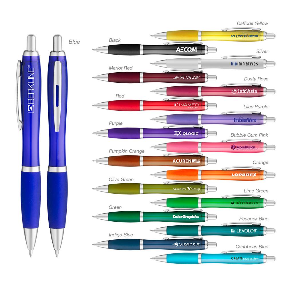 Translucent Curvaceous Ballpoint Pen
