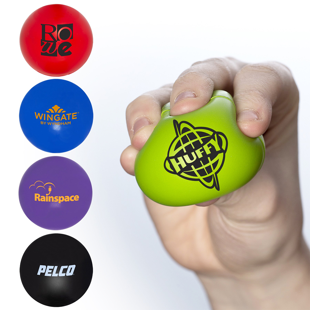 Mini Round Super Squish Stress Reliever