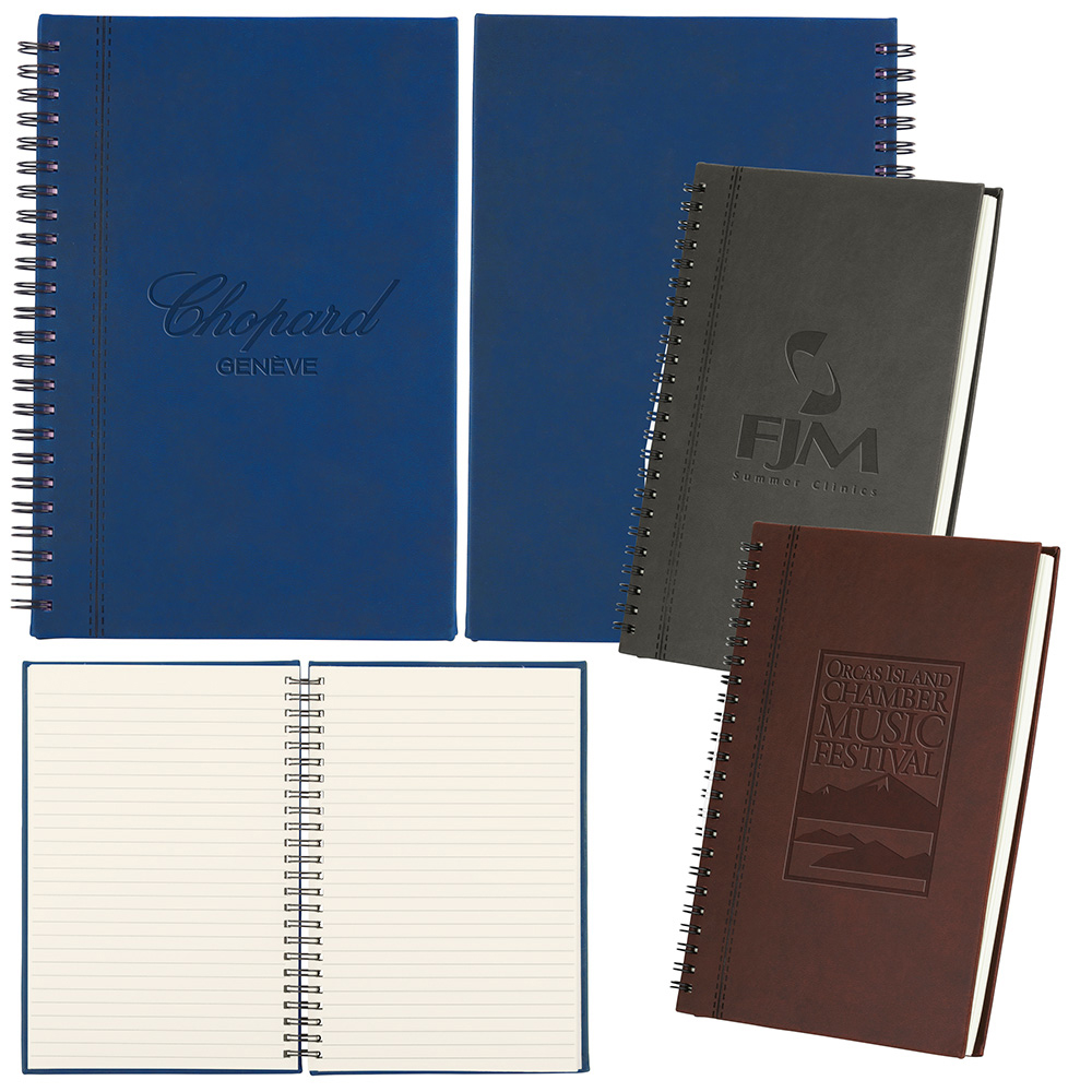Bergamo Soft Touch Notebook