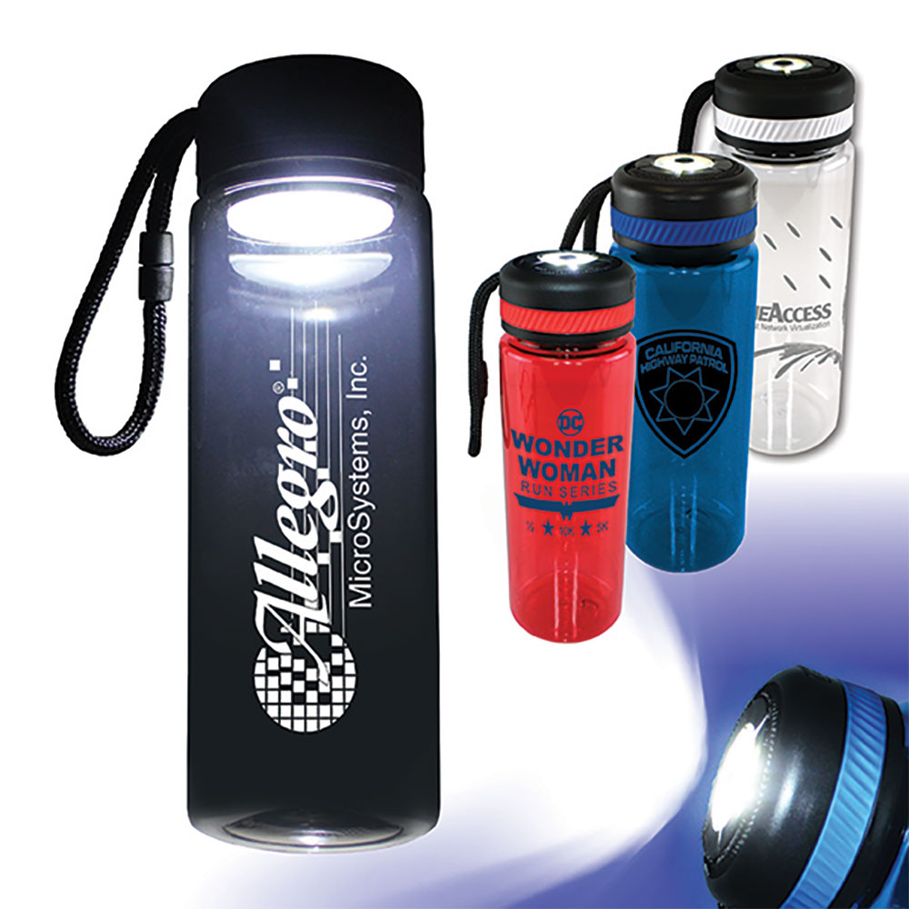 25 oz. Tritan™ Bottle with Flashlight Cap