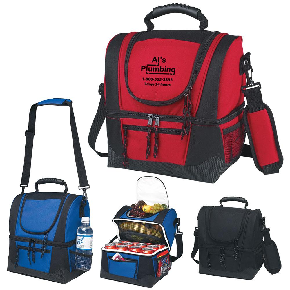 Dual Compartment Cooler Bag