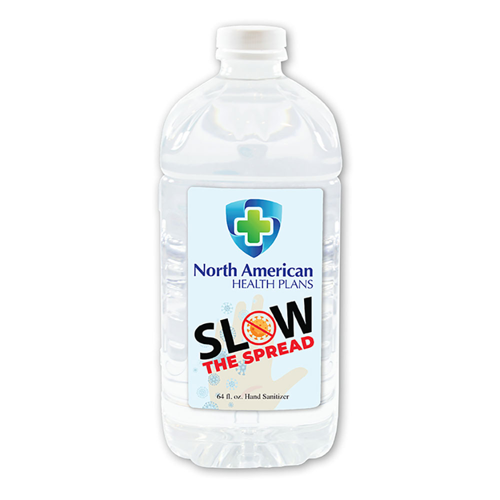 64 oz Hand Sanitizer Bottle