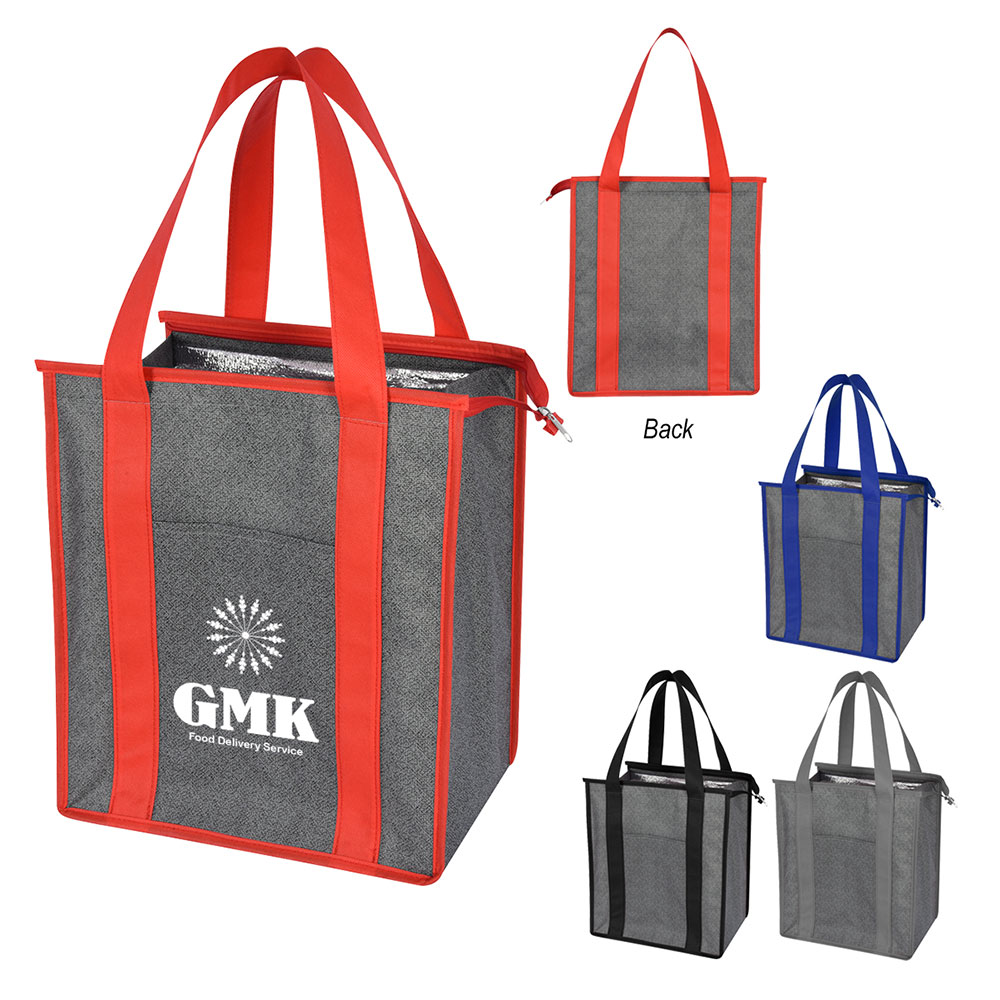Heathered Non Woven Cooler Tote