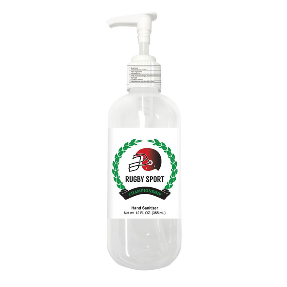 12 Oz Sanitizer With Pump