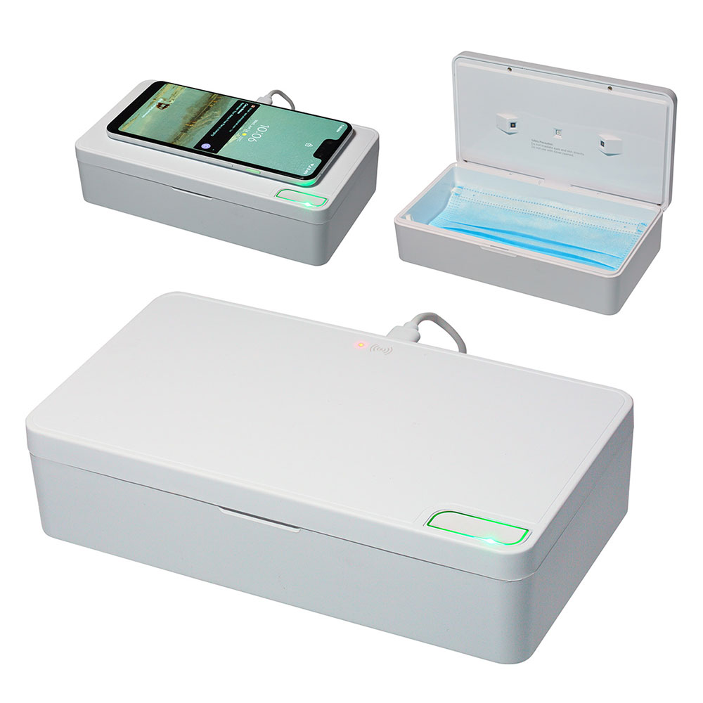 Wireless Charger with UV C Chamber