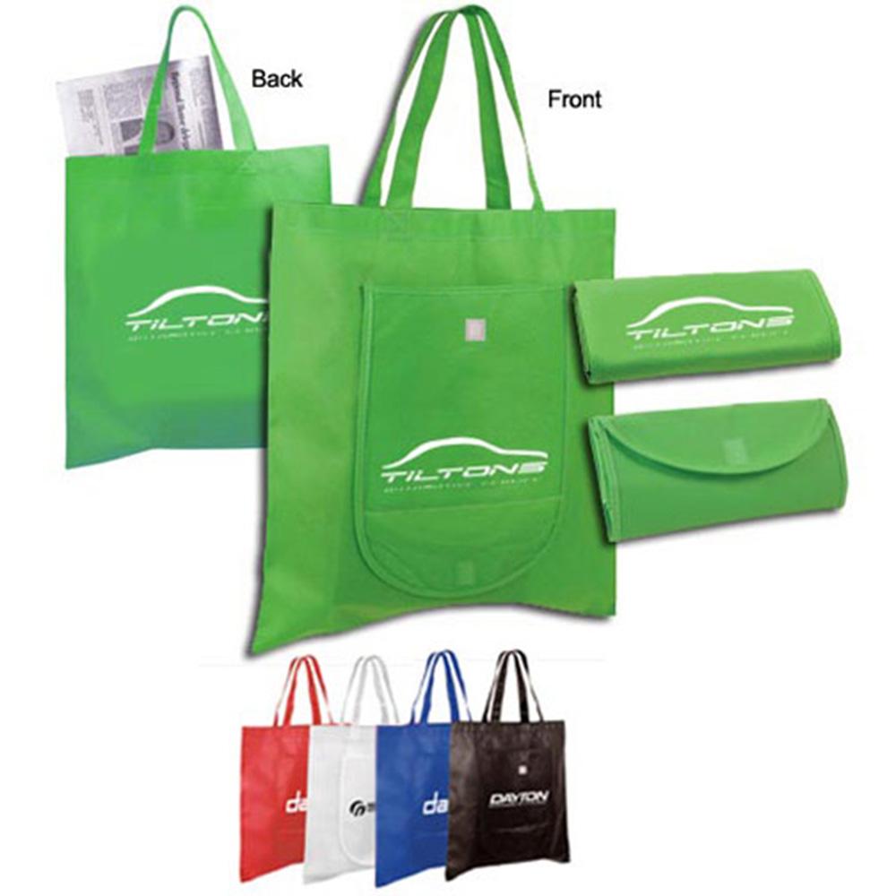Non Woven Fold 'n Go Tote Bag