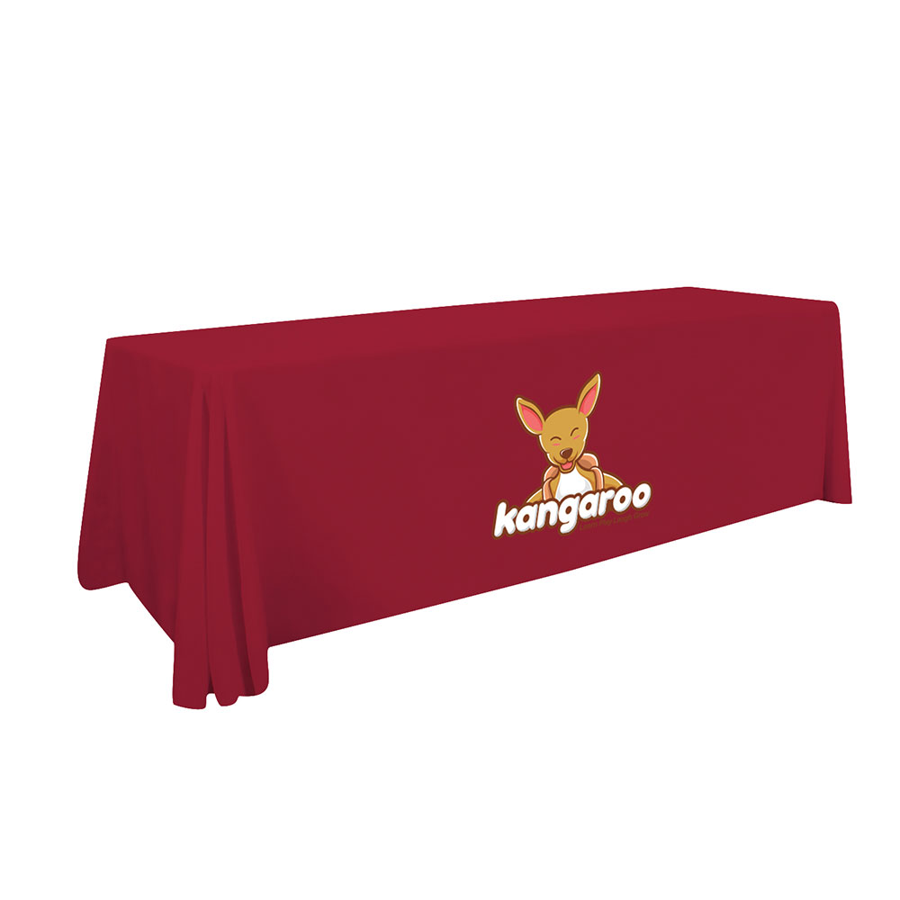 8' Tablecloth  With Digital Print
