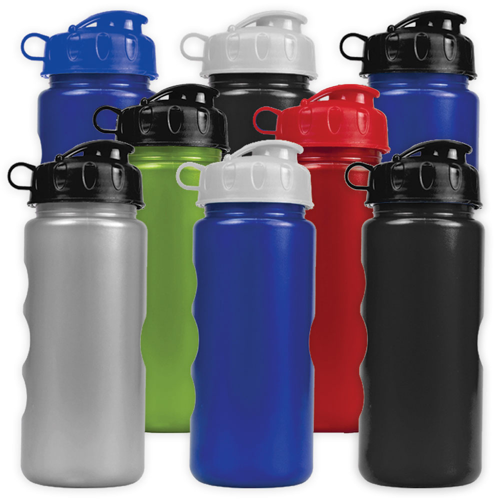 22 oz. Metalike Bottle With Flip Lid