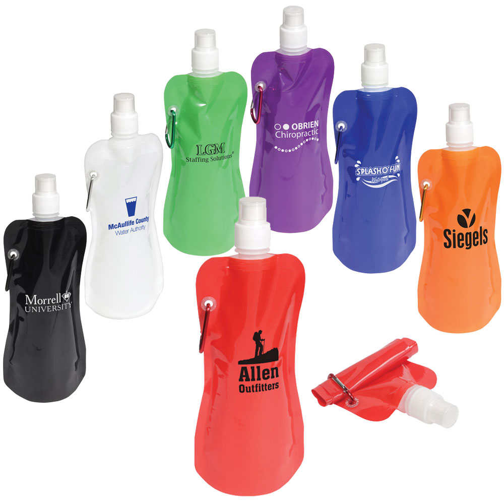 16 oz. Collapsible Water Bottle