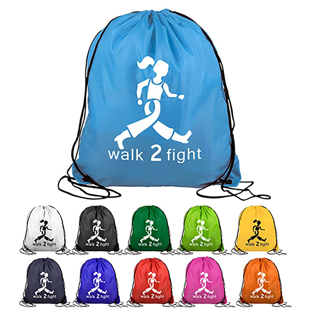 "15"" X 18"" Drawstring Backpack"