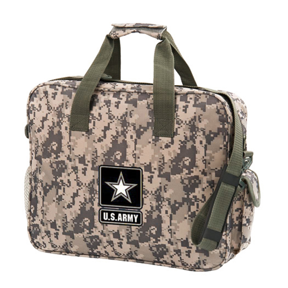 Camo Brief Bag