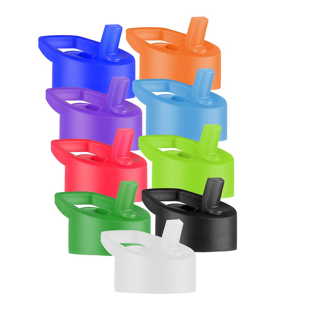25 oz. Transparent Bottle With Flip Straw Lid