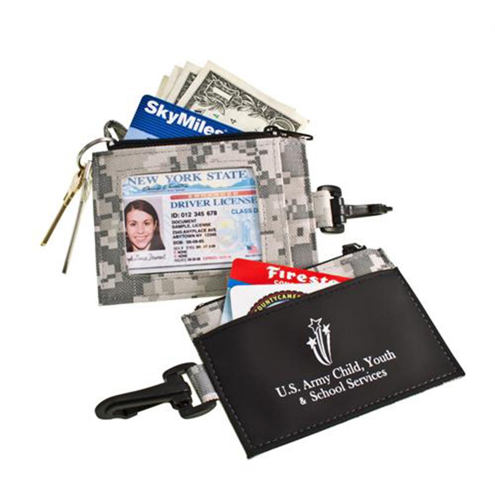 Digi Camo Pocket With ID Window