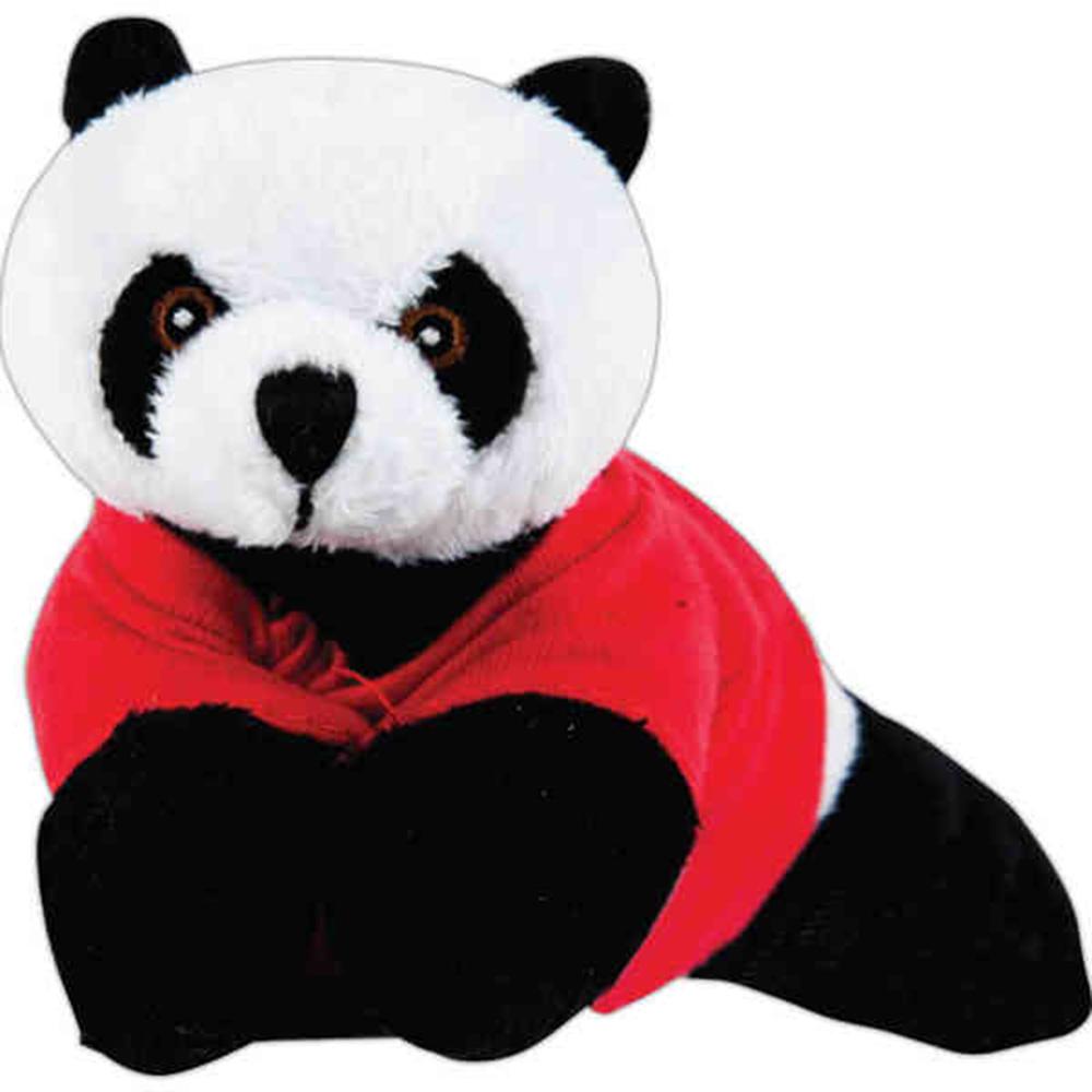 "8"" Panda Beanie"