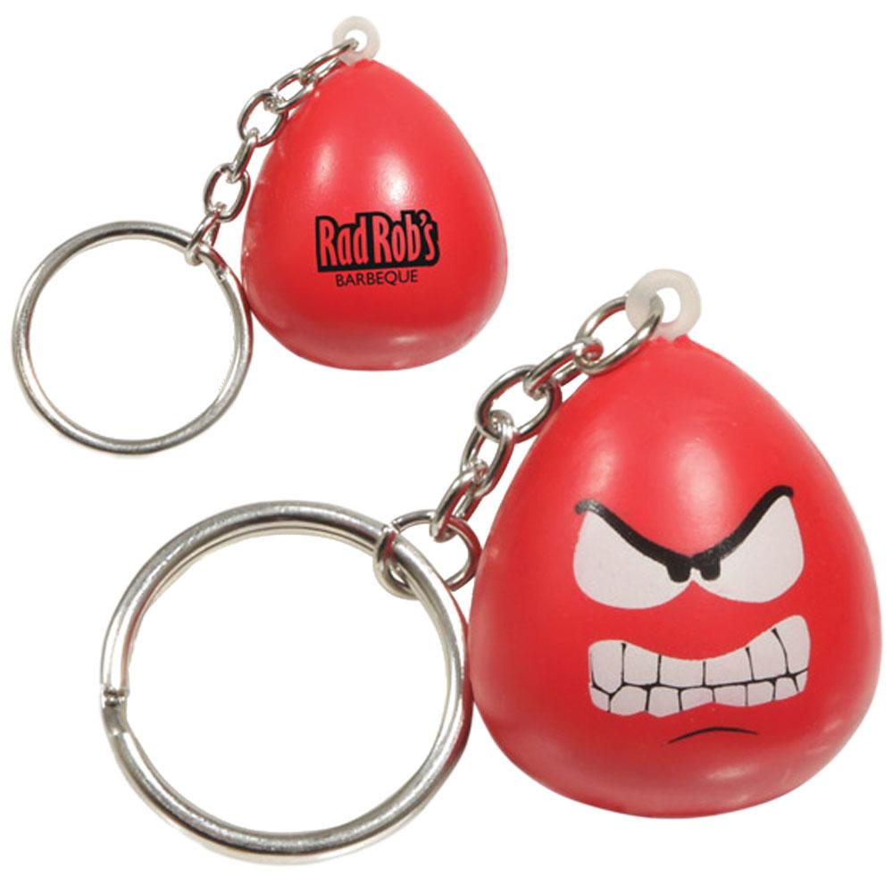 Mini Mood Maniac Angry Key Chain