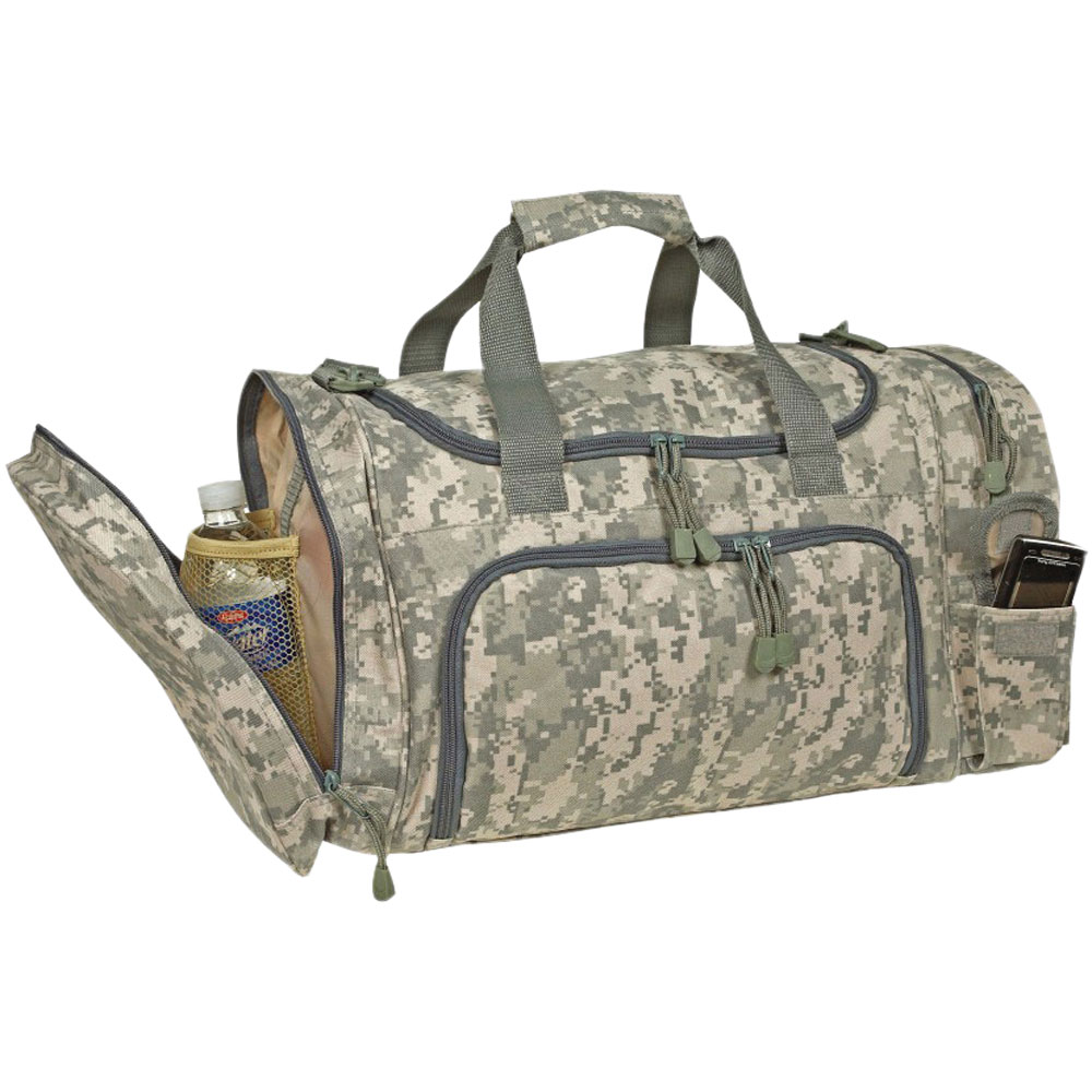 Quick Pack Camo Duffel