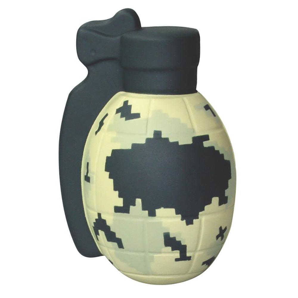 Camo Grenade Stress Reliever