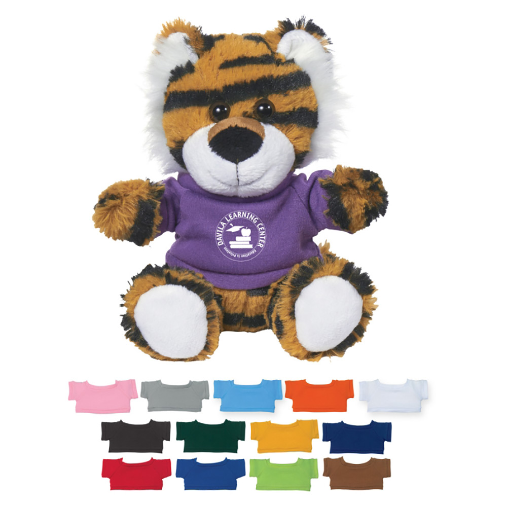 """6"""" Tiger with T shirt"""