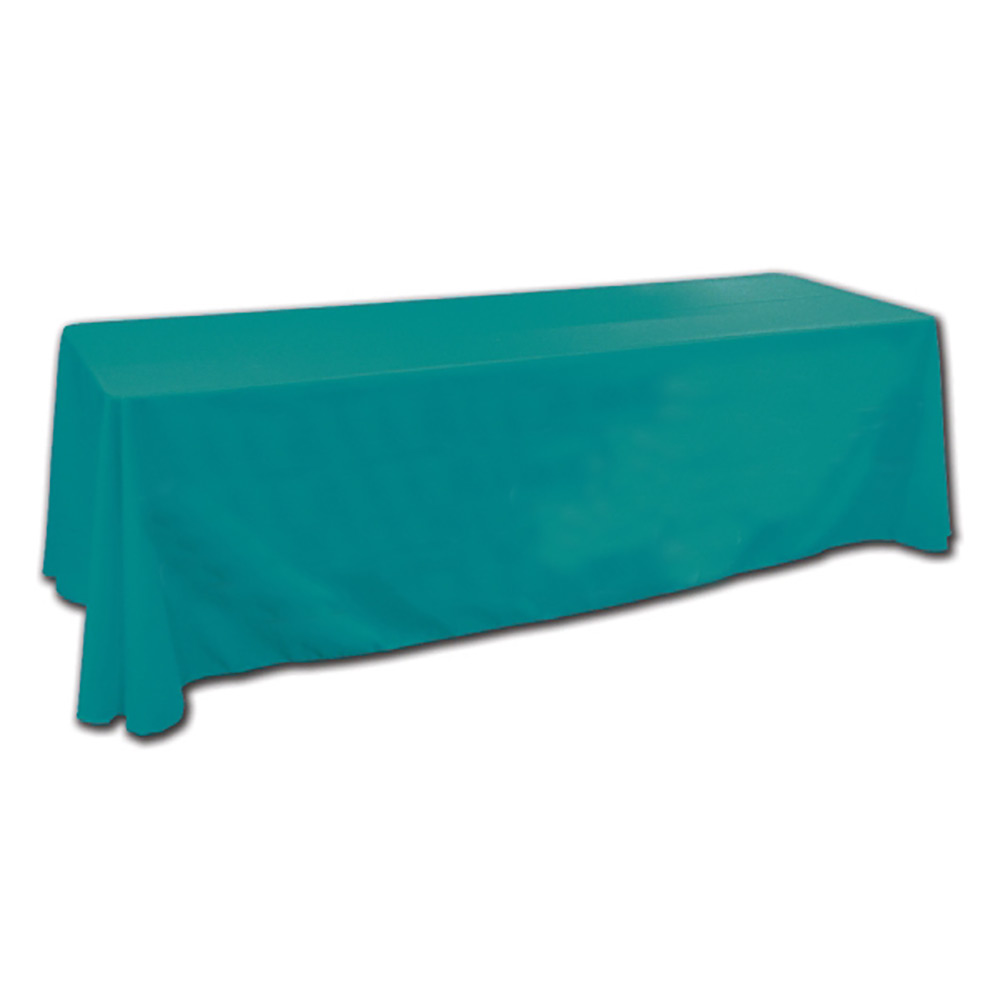 6' Teal Tablecloth