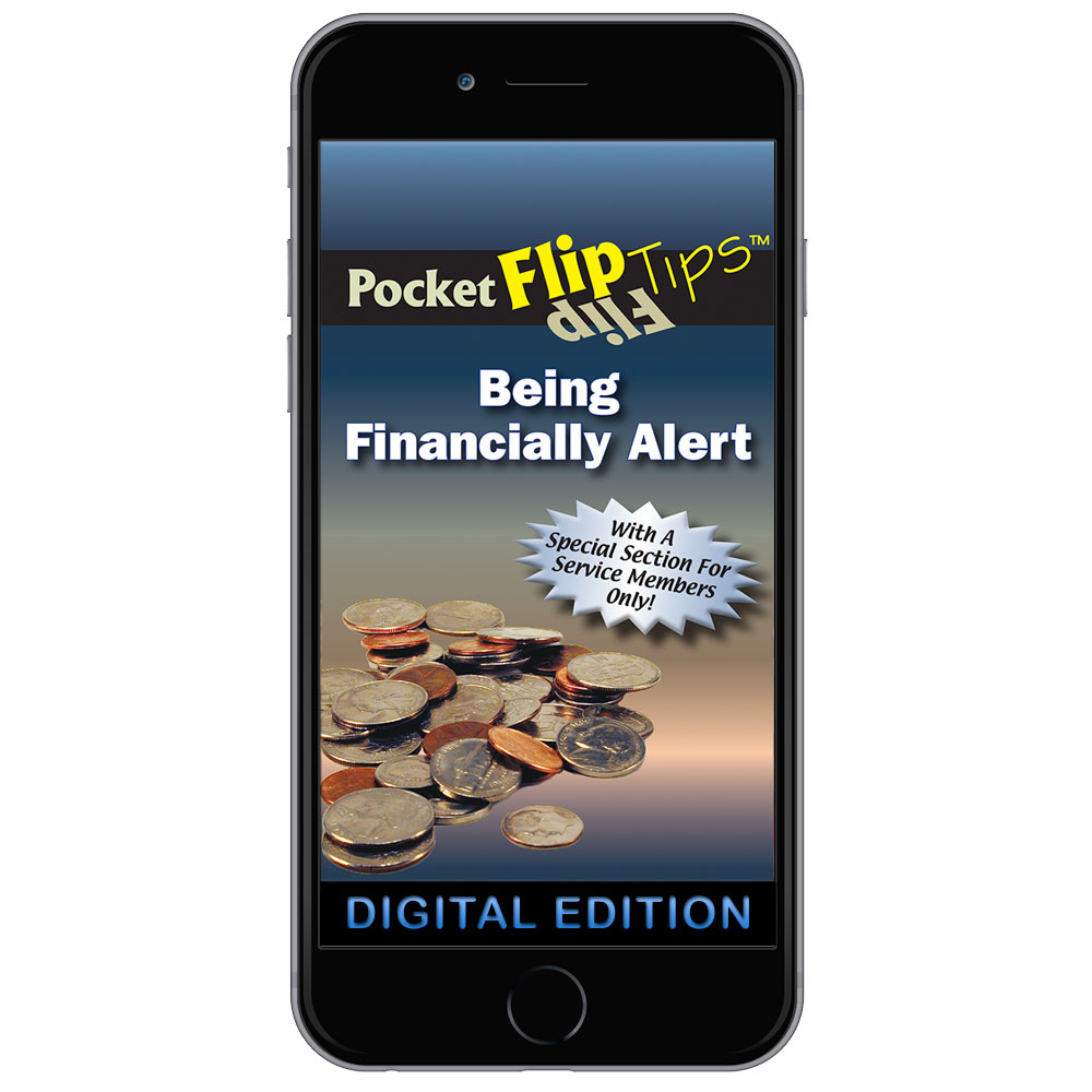 Digital Flip Tip Book: Being Financially Alert