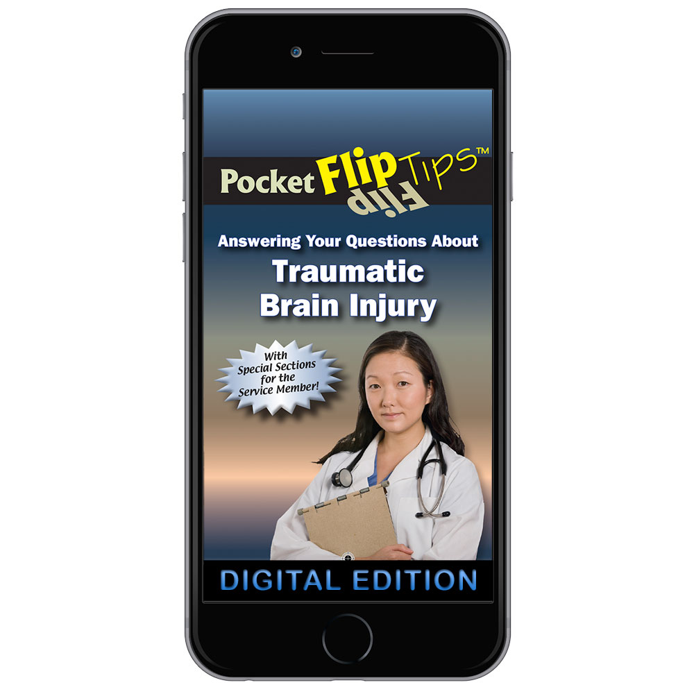 Digital Flip Tip Book: Answering Your Questions About Traumatic  Brain Injury