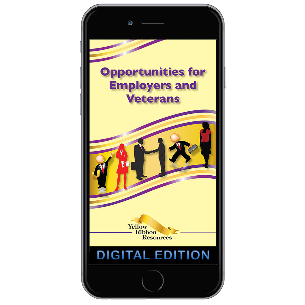 DIG YRPS BKLT: Opportunities for Employers and Veterans