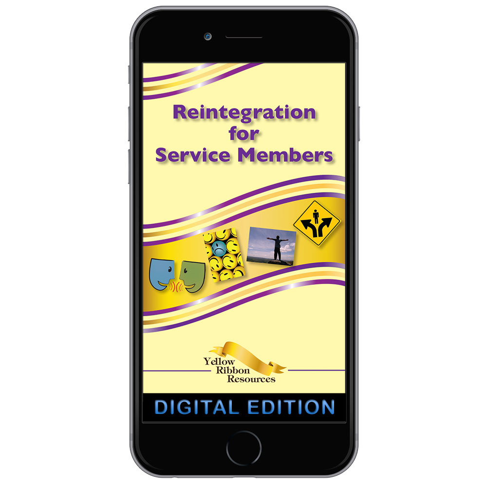 Digital Yellow Ribbon Program Booklet: Reintegration for Service Members