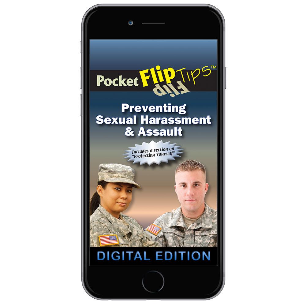 Digital Flip Tip Book: Preventing Sexual Harassment & Assault