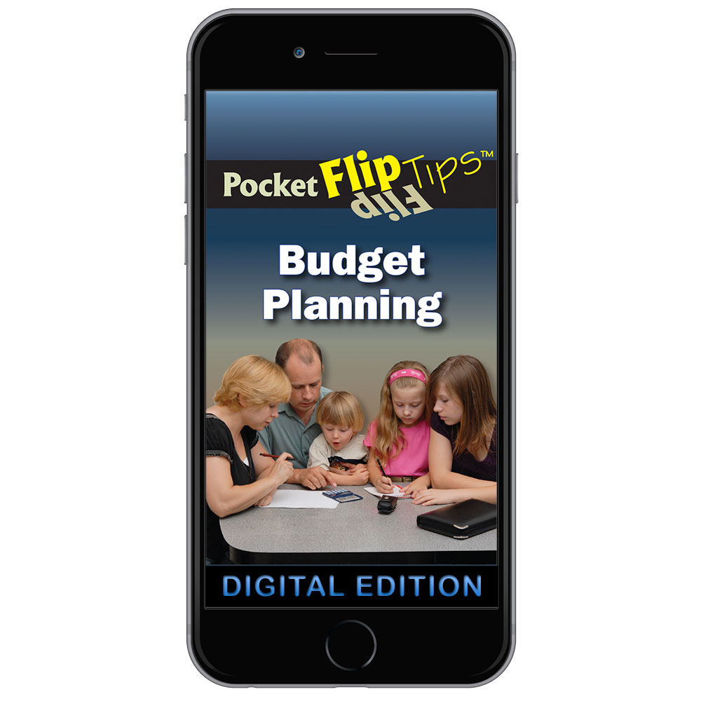 Digital Flip Tip Book: Budget Planning