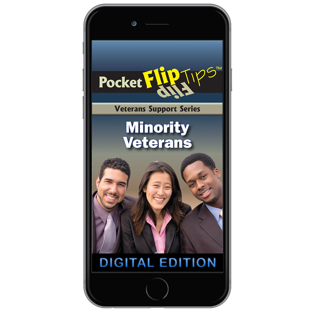 Digital Veterans Support Series Flip Tip Book: Minority Veterans