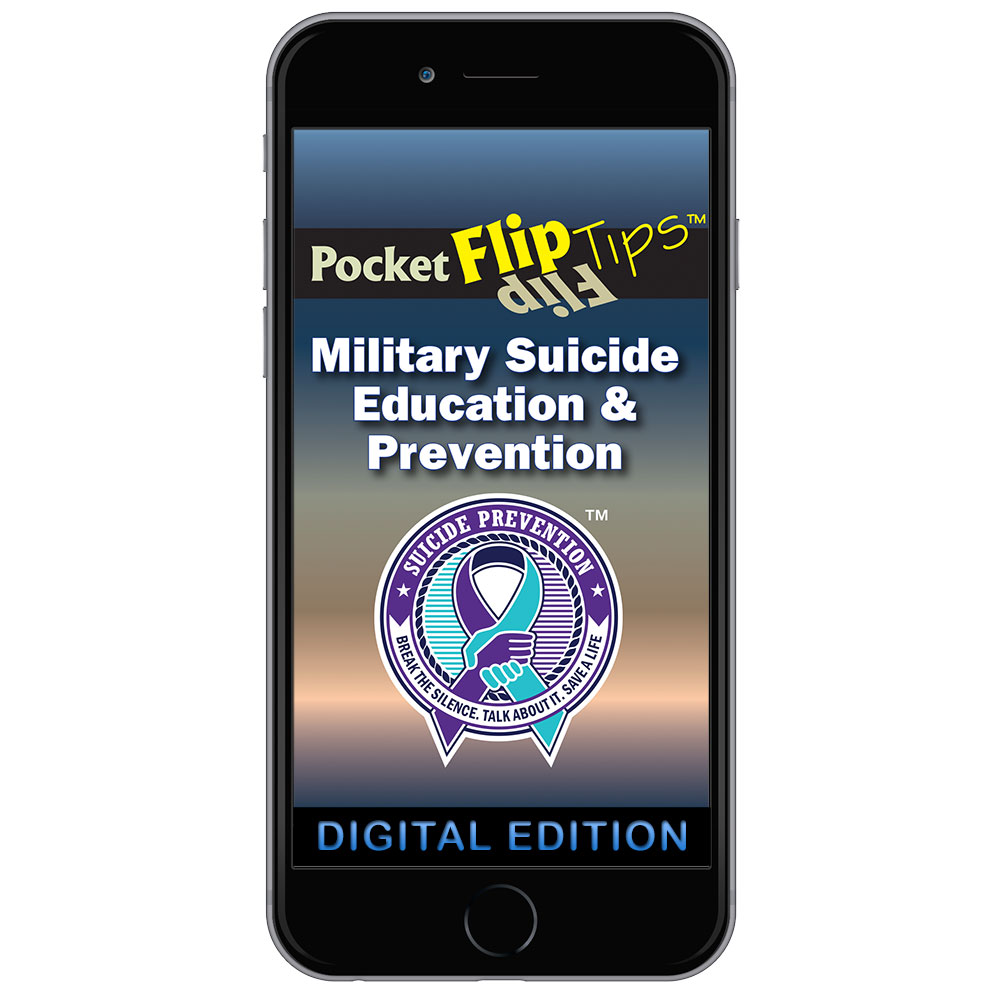Digital Flip Tip Book: Military Suicide Education & Prevention