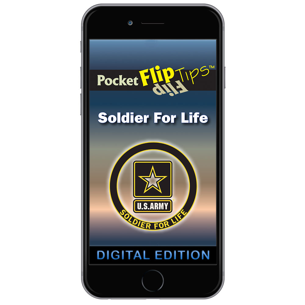 Digital Flip Tip Book: Soldier For Life