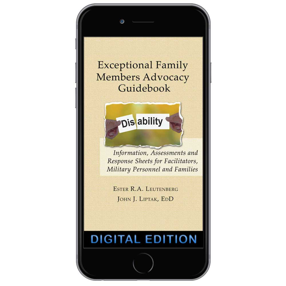 Digital Exceptional Family Members Advocacy Guidebook