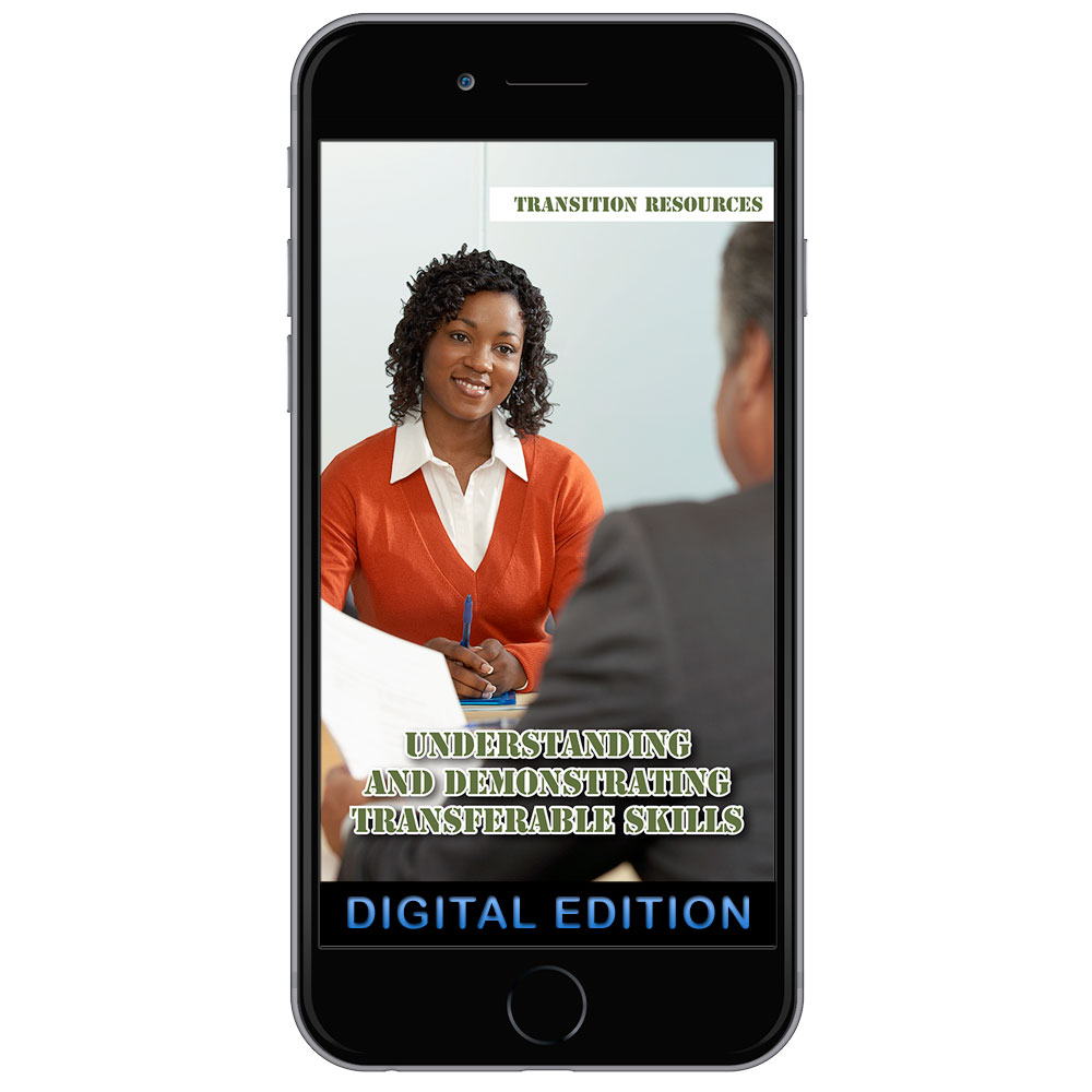 Digital Transition Resources Booklet:Understanding and Demonstrating Transferable Skills