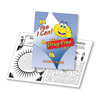 Yes I Can Live A Drug Free Life! (25 Pack) Activity Book
