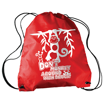 Don't Monkey Around With Drugs! Sling A Long Bag