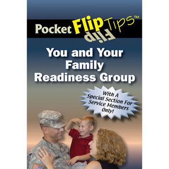 Pocket Flip Tip Book: (10 Pack) You & Your Family Readiness Group