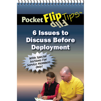 Pocket Flip Tip Book (10 Pack) 6 Issues to Discuss Before Deployment