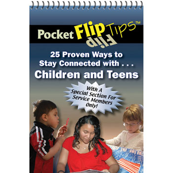 Pocket Flip Tip Book: (10 Pack) 25 Proven Ways to Stay Connected with Children and Teens
